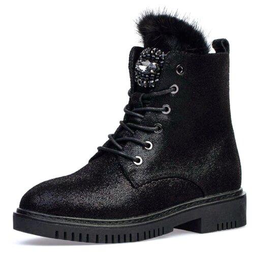 Ботинки КОТОФЕЙ размер 33, черный ботинки tapiboo размер 30 черный