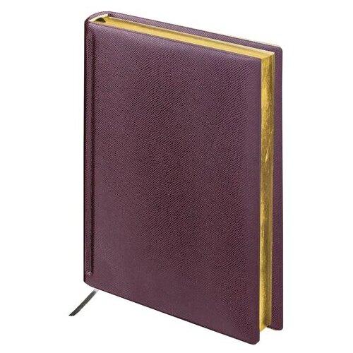 Купить Ежедневник BRAUBERG Iguana недатированный, А5, 160 листов, темно-коричневый, Ежедневники, записные книжки