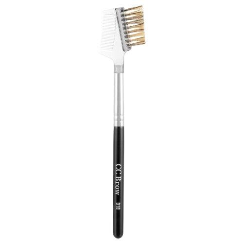 Расческа-щеточка для ресниц и бровей Lucas' Cosmetics CC Brow D18 черный