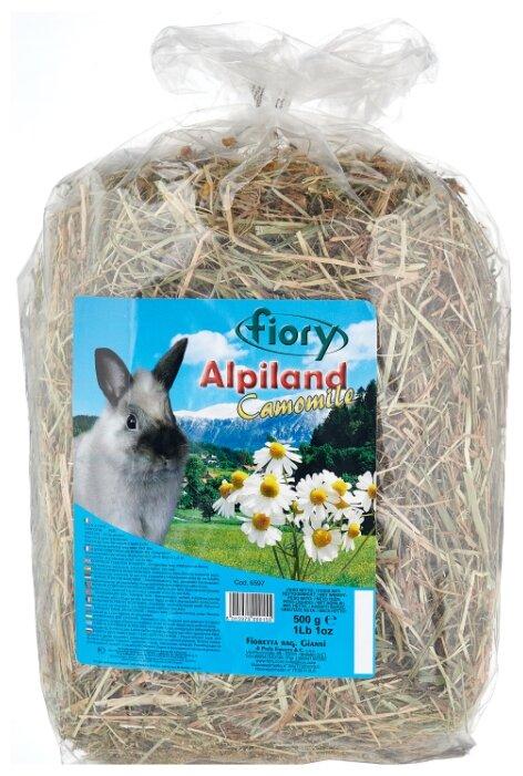 Сено Fiory Альпийское Alpiland Camomile с ромашкой 0.5 кг