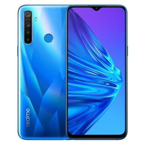 Смартфон realme 5 64GB синий кристалл