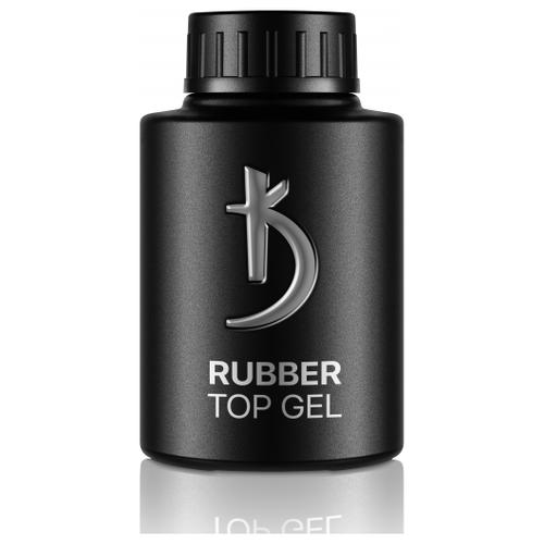 Kodi верхнее покрытие Rubber Top Gel 35 мл прозрачный kodi базовое покрытие lint base gel 35 мл прозрачный