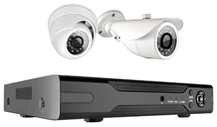 Комплект видеонаблюдения Ginzzu HK 423D 2 камеры