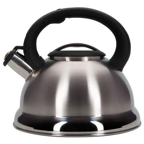 Фото - REGENT inox Чайник со свистком 93-TEA-27 2.5 л, серебристый чайник 2 6 л со свистком regent tea 93 tea 28