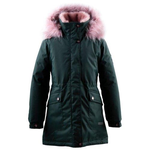 Купить Парка KERRY Rosa K19671 A размер 152, 332 зеленый, Куртки и пуховики