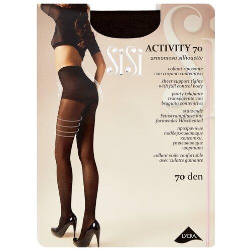 Колготки Sisi Activity 70 den, размер 5-MAXI XL, moka (коричневый) колготки sisi activity 70 den