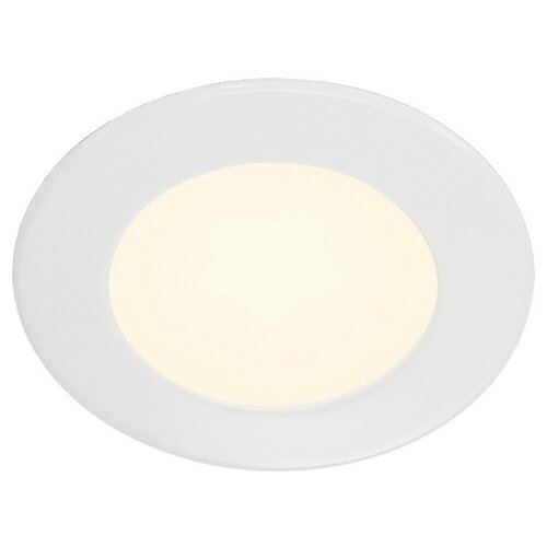 Встраиваемый светильник SLV DL 126 112161 slv потолочный светодиодный светильник slv senser square 162983