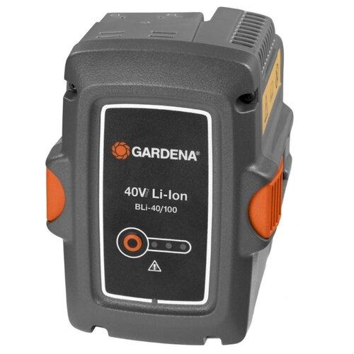 Аккумулятор GARDENA BLi-40/100 (9842-20) Li-Ion 40 В 2.6 А·ч аккумулятор съемный husqvarna bli 100 9670918 01