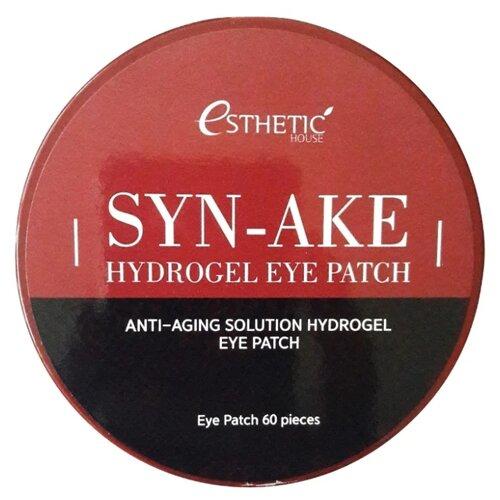 Патчи Esthetic House Syn-Ake Hydrogel Eye Patch гидрогелевые для кожи вокруг глаз esthetic house патчи для кожи вокруг глаз aloe vera