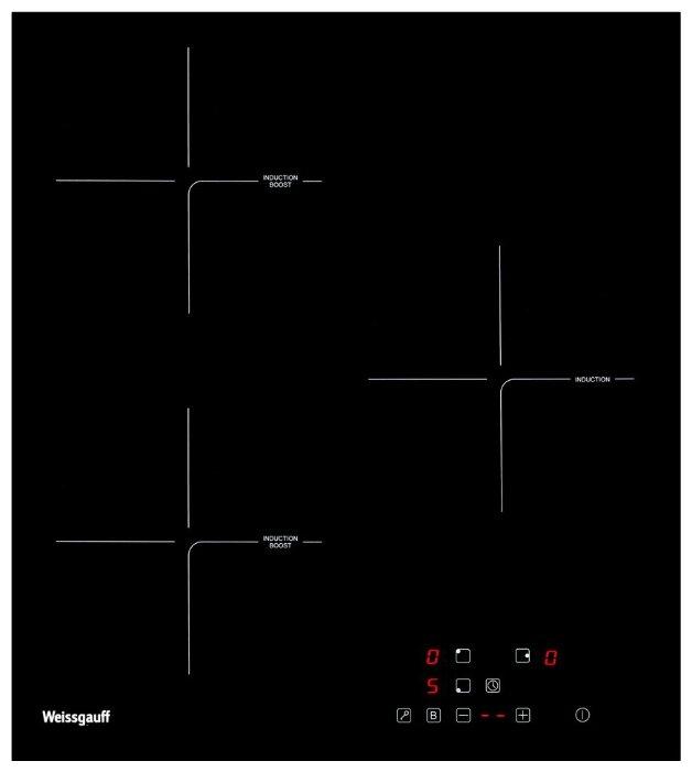 Индукционная варочная панель Weissgauff HI 430 B