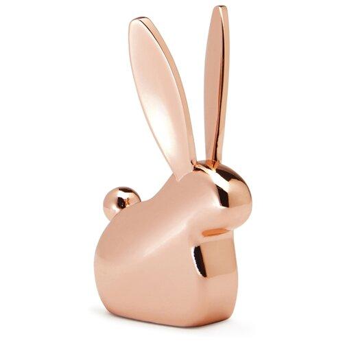 Подставка для колец Umbra Anigram кролик, медь часы настенные umbra umbra mp002xu0e7o0