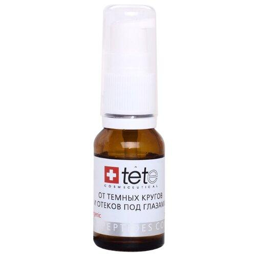 TETe Cosmeceutical Биокомплекс тонизирующий от темных кругов и отеков под глазами, 15 мл набор ковриков для ванной quelle tete a tete 1018354