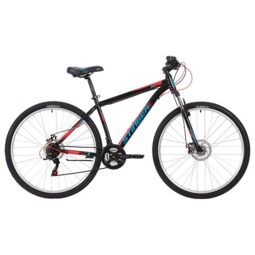 Горный (MTB) велосипед Stinger Caiman D 29 (2020) черный 20 (требует финальной сборки) велосипед stinger 26 banzai 20 синий 26 sfv banzai 20 bl7