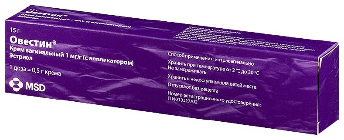 Овестин крем ваг. 15 г
