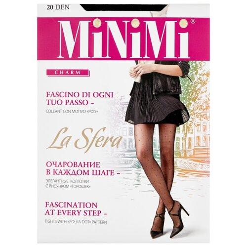 Колготки MiNiMi La Sfera 20 den, размер 3-M, nero (черный) колготки minimi la sfera 20 den размер 3 m daino бежевый