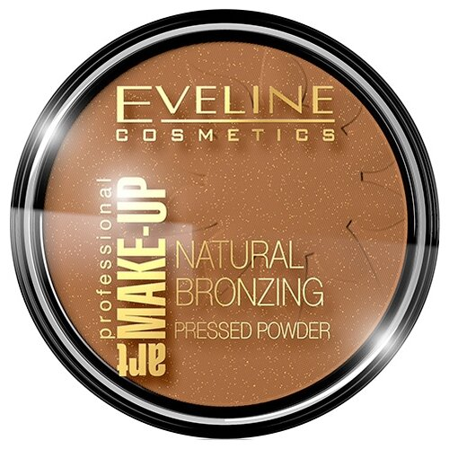 Eveline Cosmetics Art Professional Make-Up Бронзирующая пудра Natural Bronzing 50 Shine