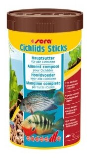 Сухой корм Sera Cichlid Sticks для рыб