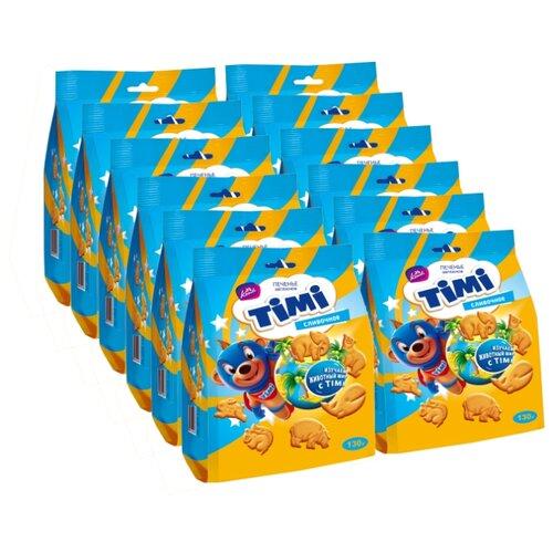 Печенье Konti Timi сливочное, 130 г х 12 шт конфеты konti tom