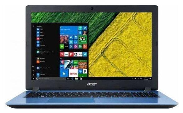 "Ноутбук Acer ASPIRE 3 (A315-51-54PD) (Intel Core i5 7200U 2500 MHz/15.6""/1366x768/4GB/128GB SSD/DVD нет/Intel HD Graphics 620/Wi-Fi/Bluetooth/Windows 10 Home)"