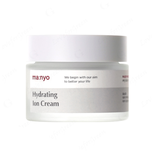 Manyo Factory Hydrating Ion Cream увлажняющий восстанавливающий ионный крем для лица, 50 мл histomer крем увлажняющий глубокого действия hydrating deep action 50 мл