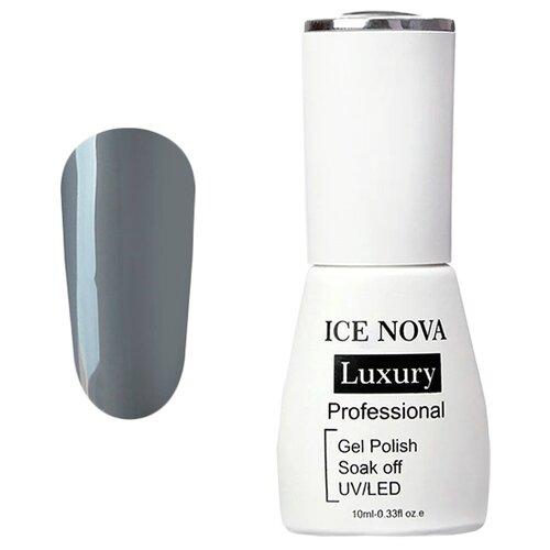 Фото - Гель-лак для ногтей ICE NOVA Luxury Professional, 10 мл, 045 ash гель лак для ногтей ice nova ice cream 10 мл 045