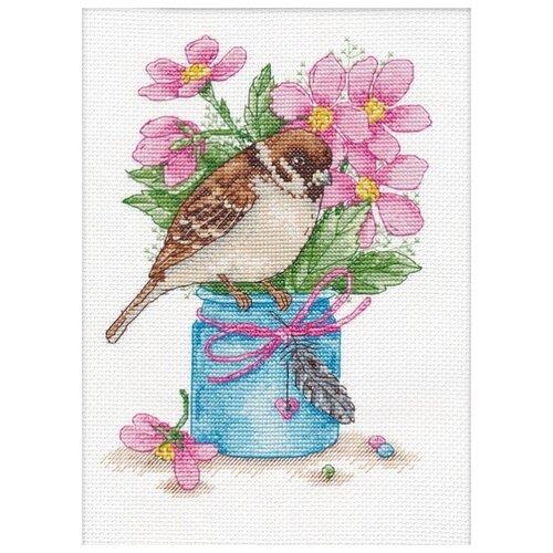 Купить Набор Весенний привет 15х21 Овен 1200, Наборы для вышивания