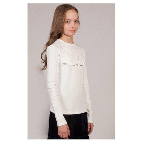 Купить Блузка Снег размер 128-134, молочный, Рубашки и блузы