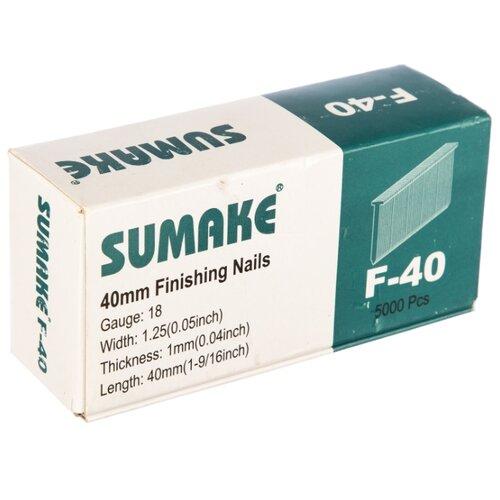 Гвозди SUMAKE F-40 для пистолета, 40 мм