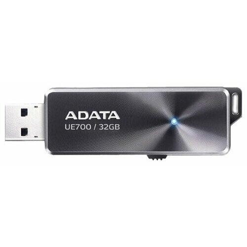 Фото - Флешка ADATA DashDrive Elite UE700 32GB черный adata ue700 32gb черный