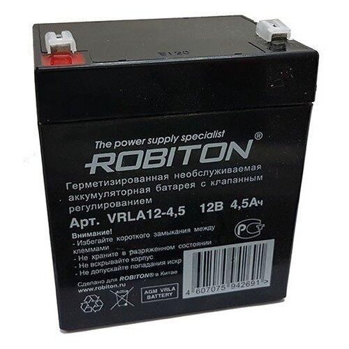 Аккумуляторная батарея ROBITON VRLA 12-4.5 4.5 А·ч