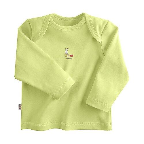 Купить Лонгслив Наша мама размер 68, салатовый, Футболки и рубашки