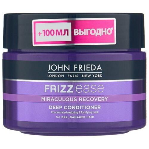 John Frieda Frizz Ease Miraculous Recovery Интенсивная маска для укрепления волос, 250 мл john frieda кондиционер для гладкости волос против влажности frizz ease forever smooth 250 мл