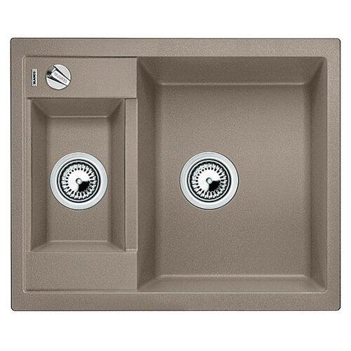 Врезная кухонная мойка 61.5 см Blanco Metra 6 серый беж