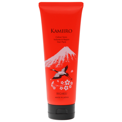 Bigaku Kamiiro Маска для восстановления, сохранения цвета и придания объема волосам Colour Save, 250 мл