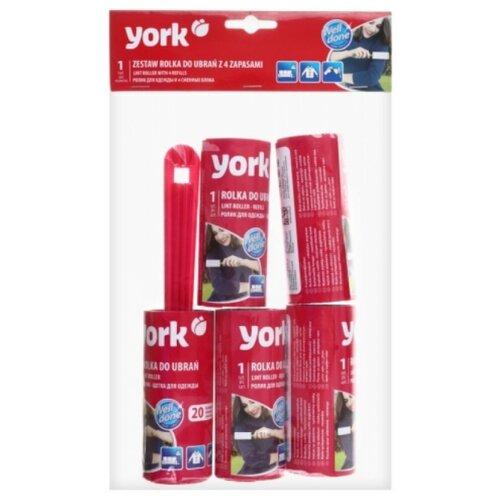 York набор ролик для одежды и 4 запасных блока, 20 листов ассорти