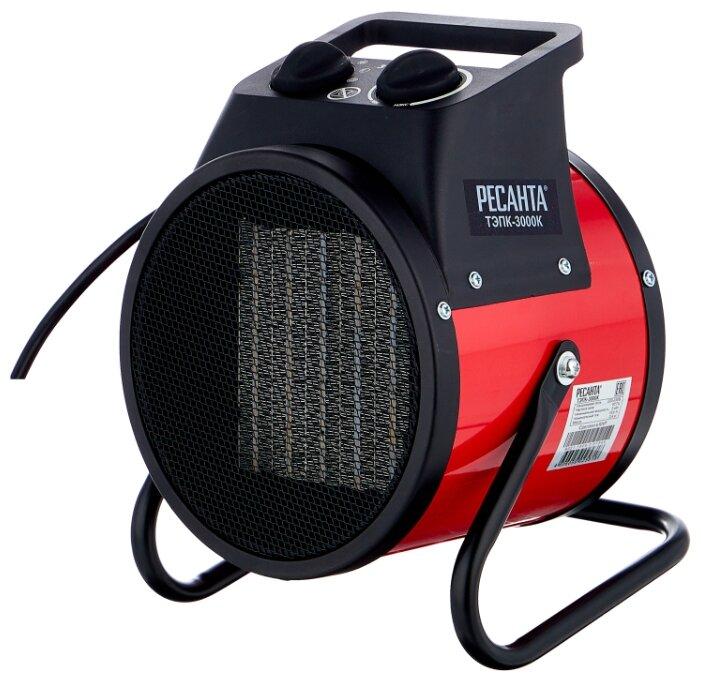 Электрическая тепловая пушка РЕСАНТА ТЭПК-3000К (3 кВт)