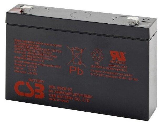 Аккумуляторная батарея CSB (HRL634W)