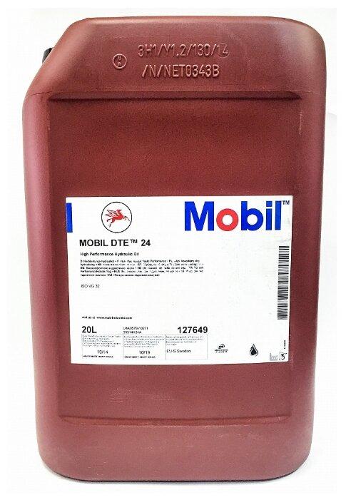Масло гидравлическое Mobil DTE 24 мин. (20л)