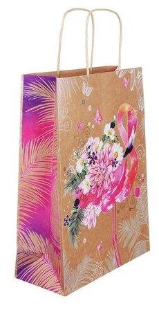 Пакет подарочный Арт & Дизайн крафт
