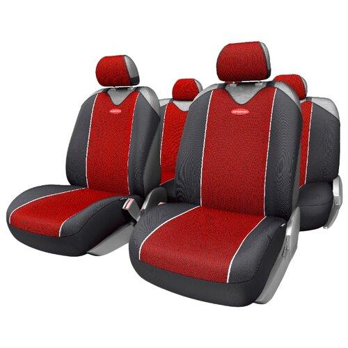 Комплект чехлов AUTOPROFI CRB-902P черный/красный autoprofi crb 402pf carbon plus