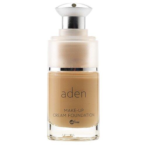 Фото - Aden Тональный крем Make-Up Cream Foundation, 15 мл/17.14 г, оттенок: 02 natural divage тональный крем foundation luminous 25 мл оттенок 01