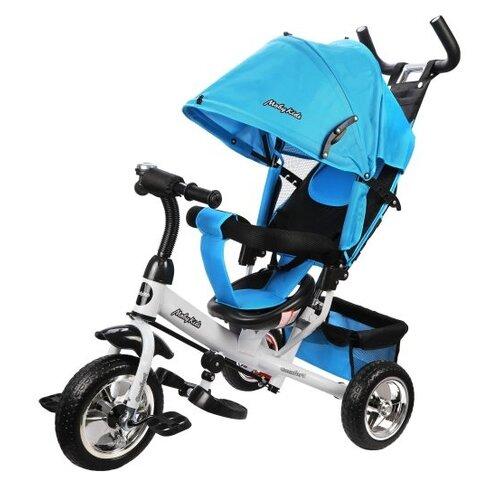 Купить Трехколесный велосипед Moby Kids Comfort 10x8 EVA голубой, Трехколесные велосипеды