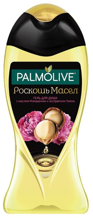 Гель для душа Palmolive Роскошь масел с маслом макадамии и экстрактом пиона
