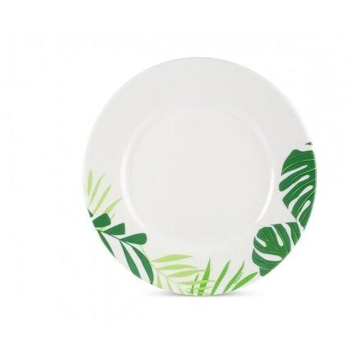 Luminarc Тарелка десертная Jungle Fever 19 см белый