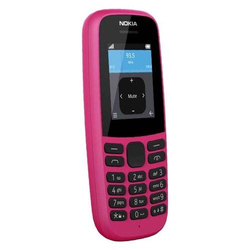 Телефон Nokia 105 DS (2019) розовый телефон