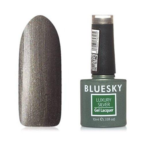 Купить Гель-лак для ногтей Bluesky Luxury Silver, 10 мл, №637