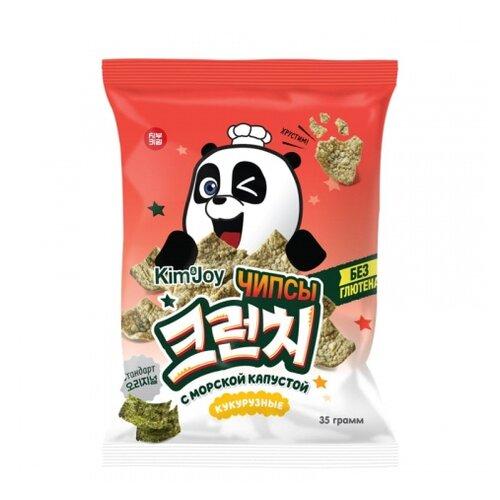 Чипсы Сибуки Kim&Joy кукурузные с морской капустой, 35 г