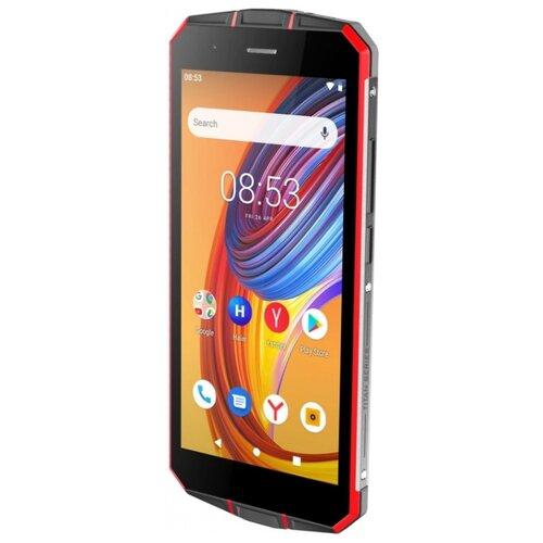 Смартфон Haier Titan T1 черный/красный смартфон
