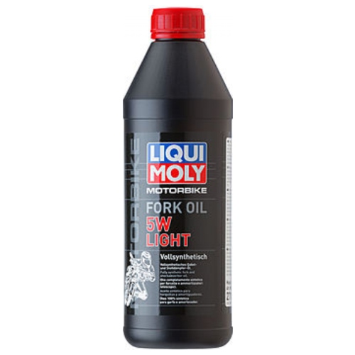 Вилочное масло LIQUI MOLY Motorbike Fork Oil Light 5W 1 л вилочное масло eni fork 10w 1 л