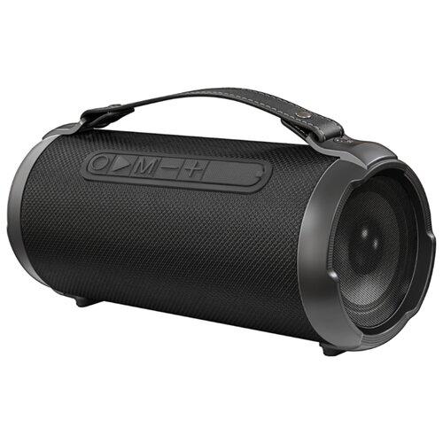 Портативная акустика Ginzzu GM-983G черный портативная акустика ginzzu gm 988r